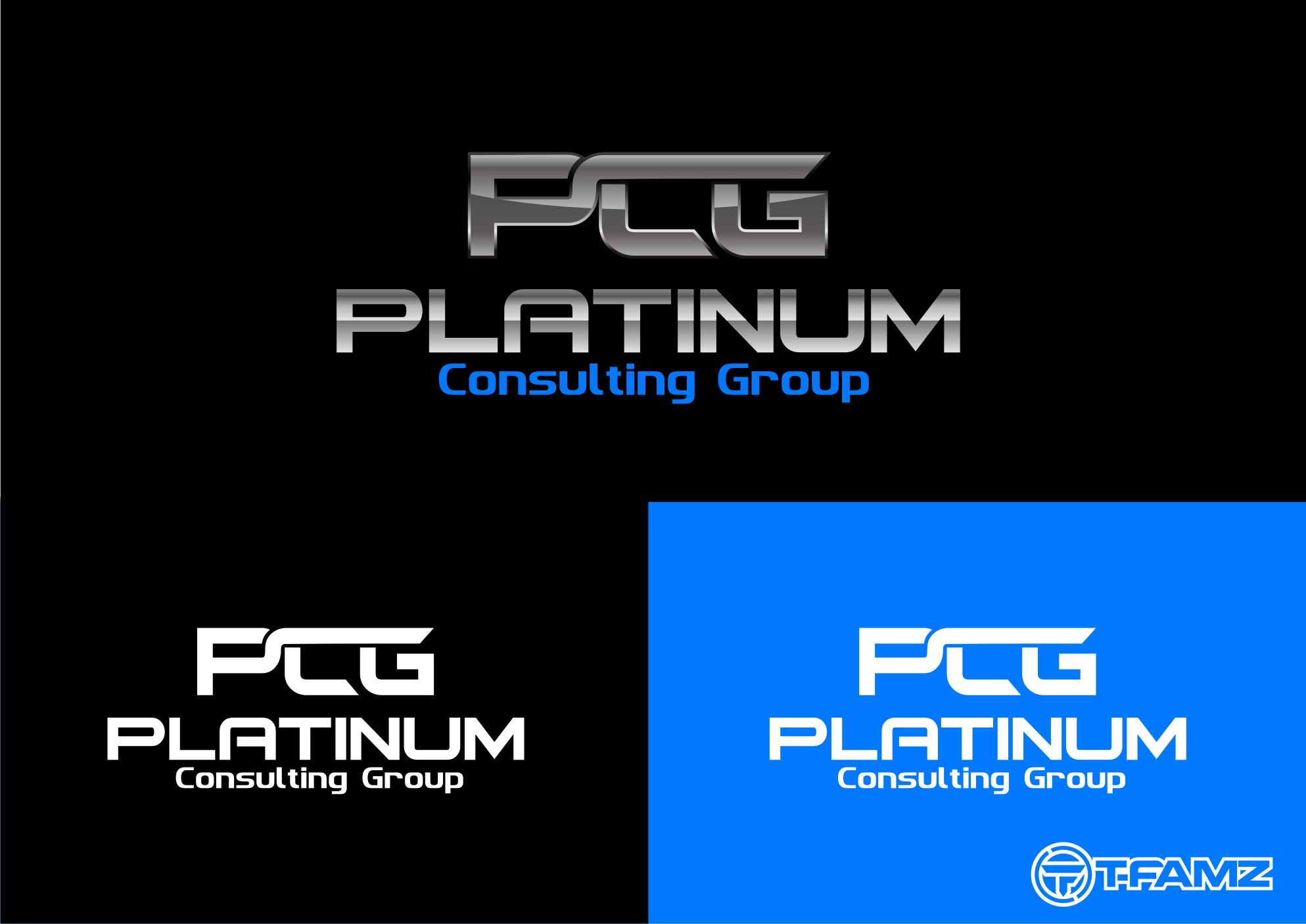 Logo Design by Tille Famz - Entry No. 19 in the Logo Design Contest Captivating Logo Design for Platinum Consulting Group.