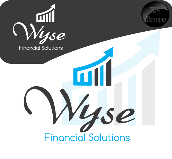 Logo Design by 354studio - Entry No. 78 in the Logo Design Contest Fun Logo Design for Wyse Financial Solutions.