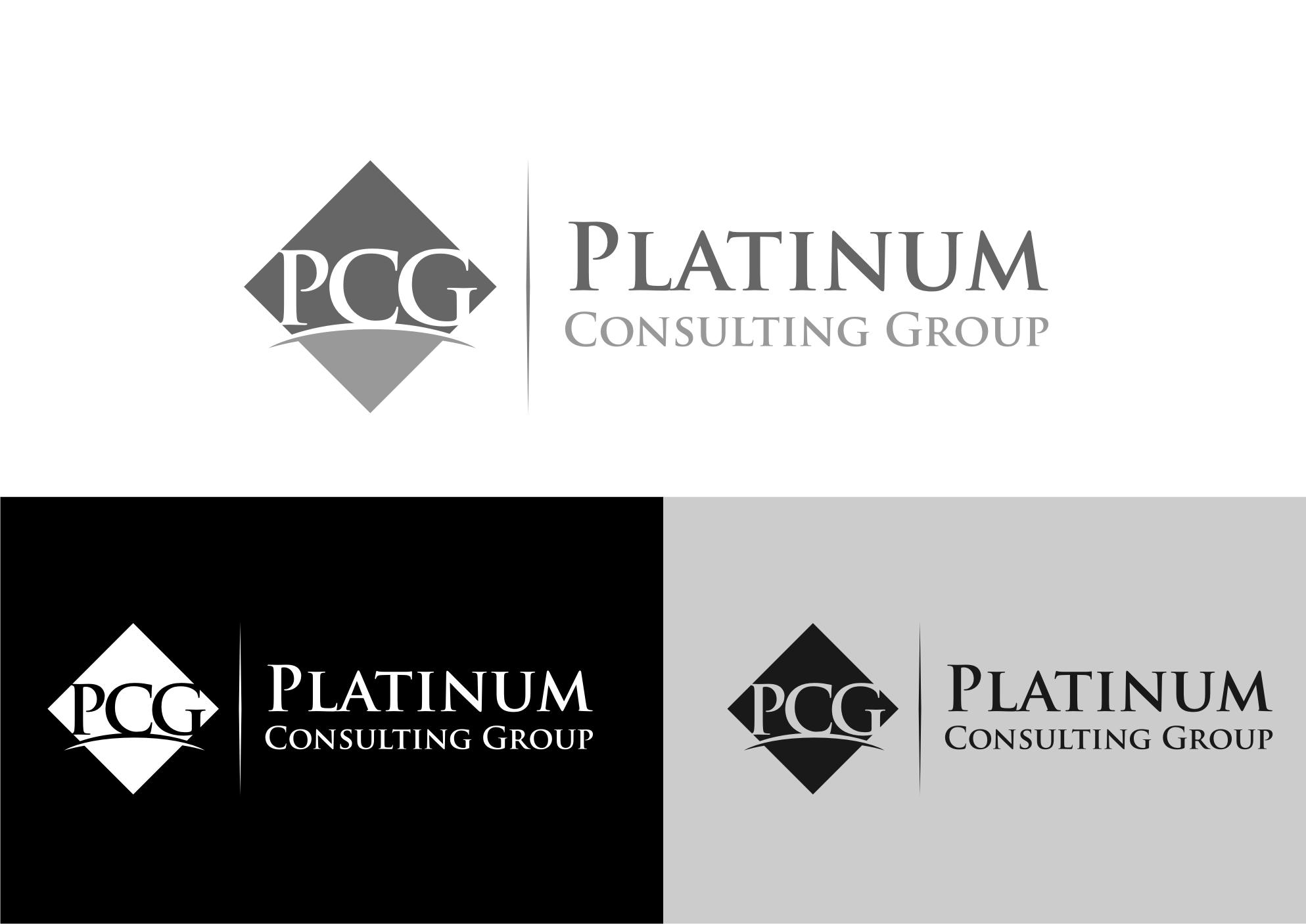 Logo Design by Tille Famz - Entry No. 20 in the Logo Design Contest Captivating Logo Design for Platinum Consulting Group.