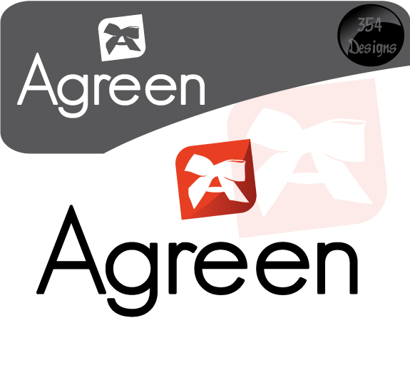 Logo Design by 354studio - Entry No. 43 in the Logo Design Contest Inspiring Logo Design for Agreen.