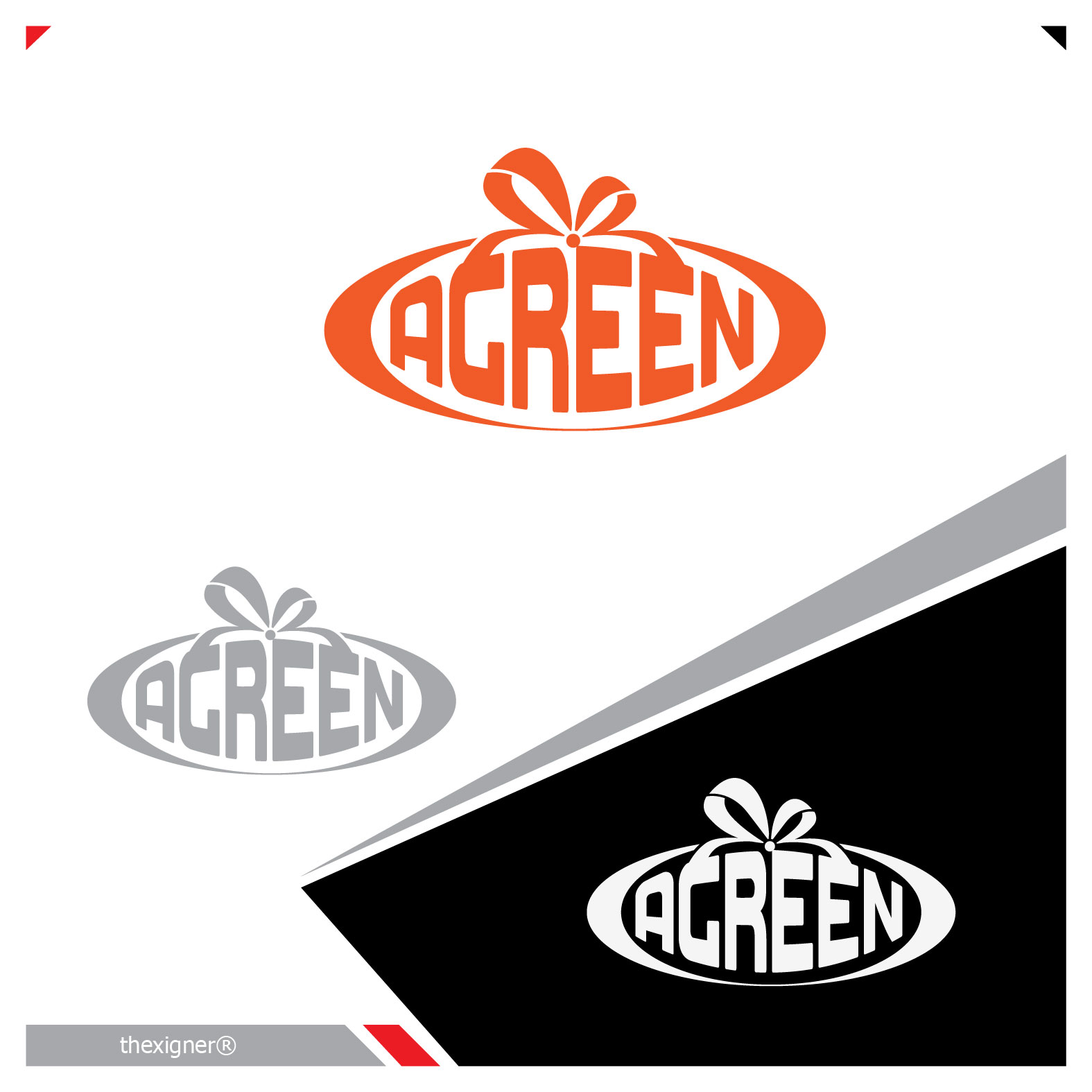 Logo Design by lagalag - Entry No. 48 in the Logo Design Contest Inspiring Logo Design for Agreen.