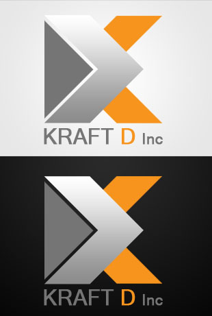 Logo Design by Private User - Entry No. 181 in the Logo Design Contest Unique Logo Design Wanted for Kraft D Inc.