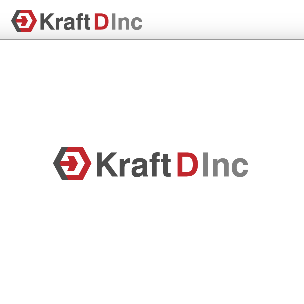 Logo Design by rockin - Entry No. 186 in the Logo Design Contest Unique Logo Design Wanted for Kraft D Inc.