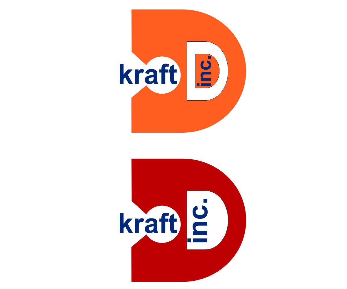 Logo Design by franz - Entry No. 191 in the Logo Design Contest Unique Logo Design Wanted for Kraft D Inc.