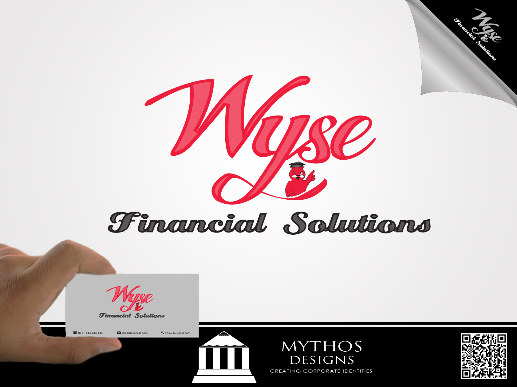 Logo Design by Mythos Designs - Entry No. 84 in the Logo Design Contest Fun Logo Design for Wyse Financial Solutions.