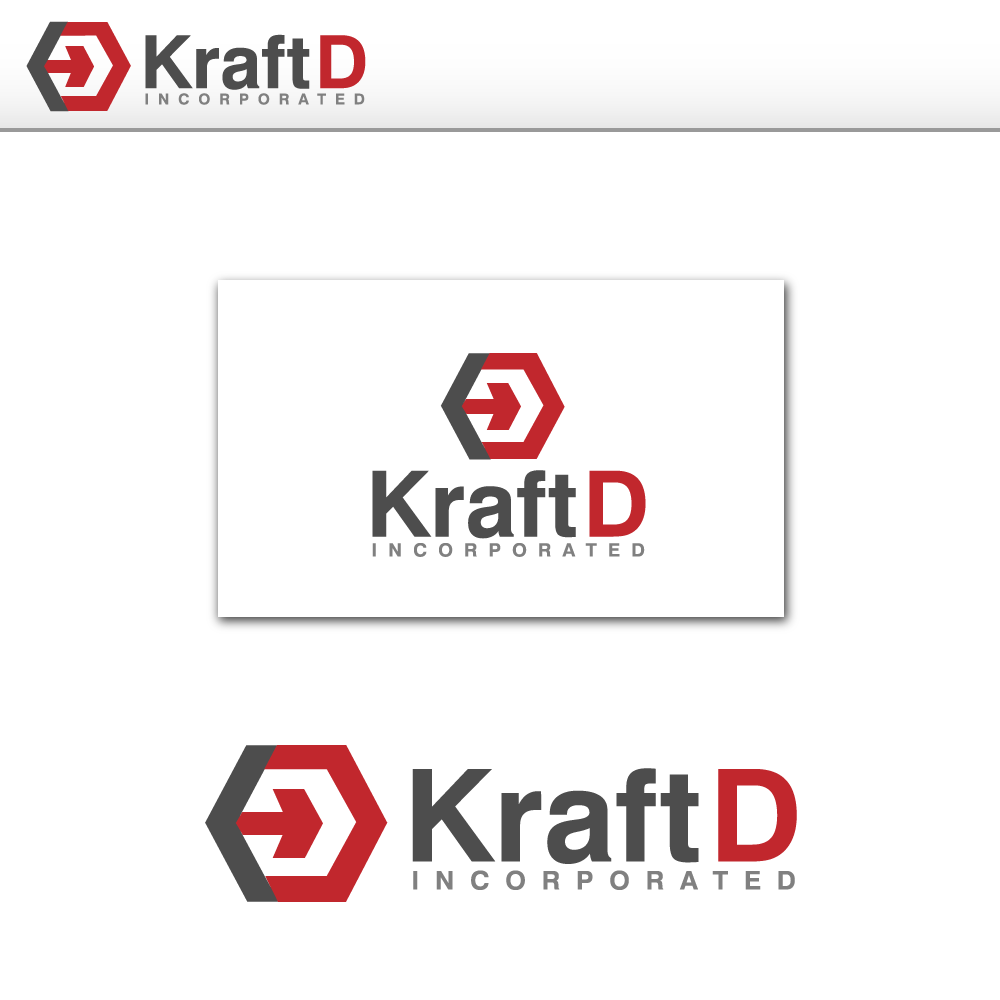 Logo Design by rockin - Entry No. 192 in the Logo Design Contest Unique Logo Design Wanted for Kraft D Inc.