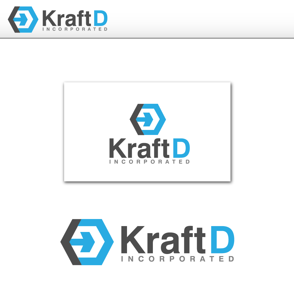 Logo Design by rockin - Entry No. 193 in the Logo Design Contest Unique Logo Design Wanted for Kraft D Inc.