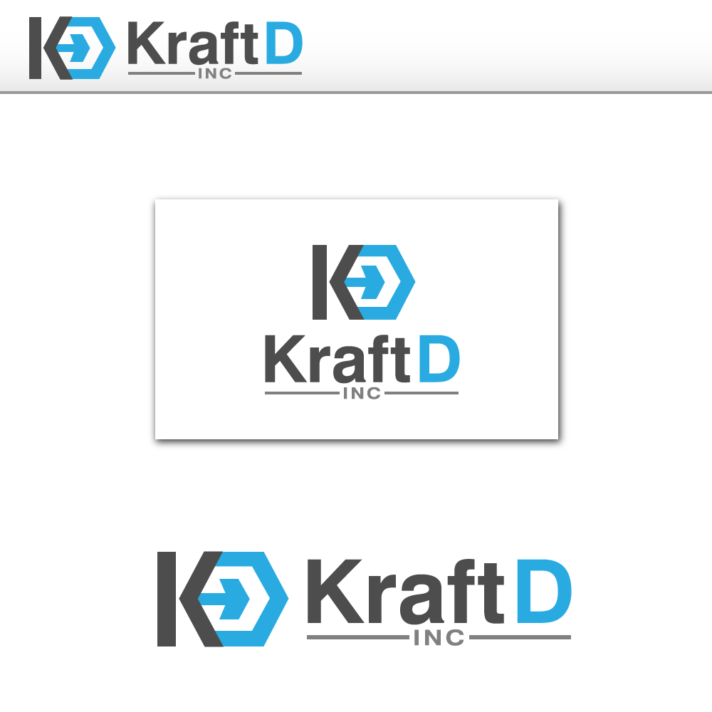Logo Design by rockin - Entry No. 194 in the Logo Design Contest Unique Logo Design Wanted for Kraft D Inc.