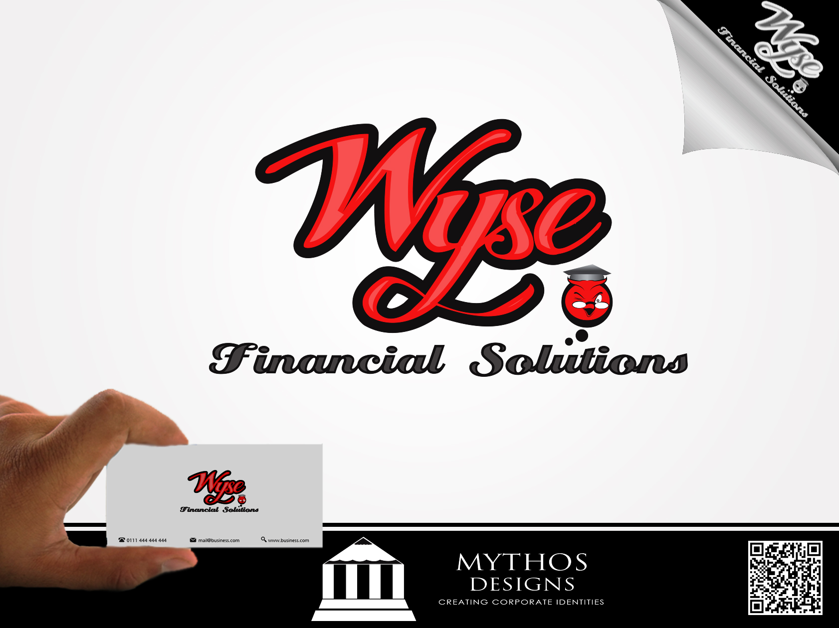 Logo Design by Mythos Designs - Entry No. 87 in the Logo Design Contest Fun Logo Design for Wyse Financial Solutions.