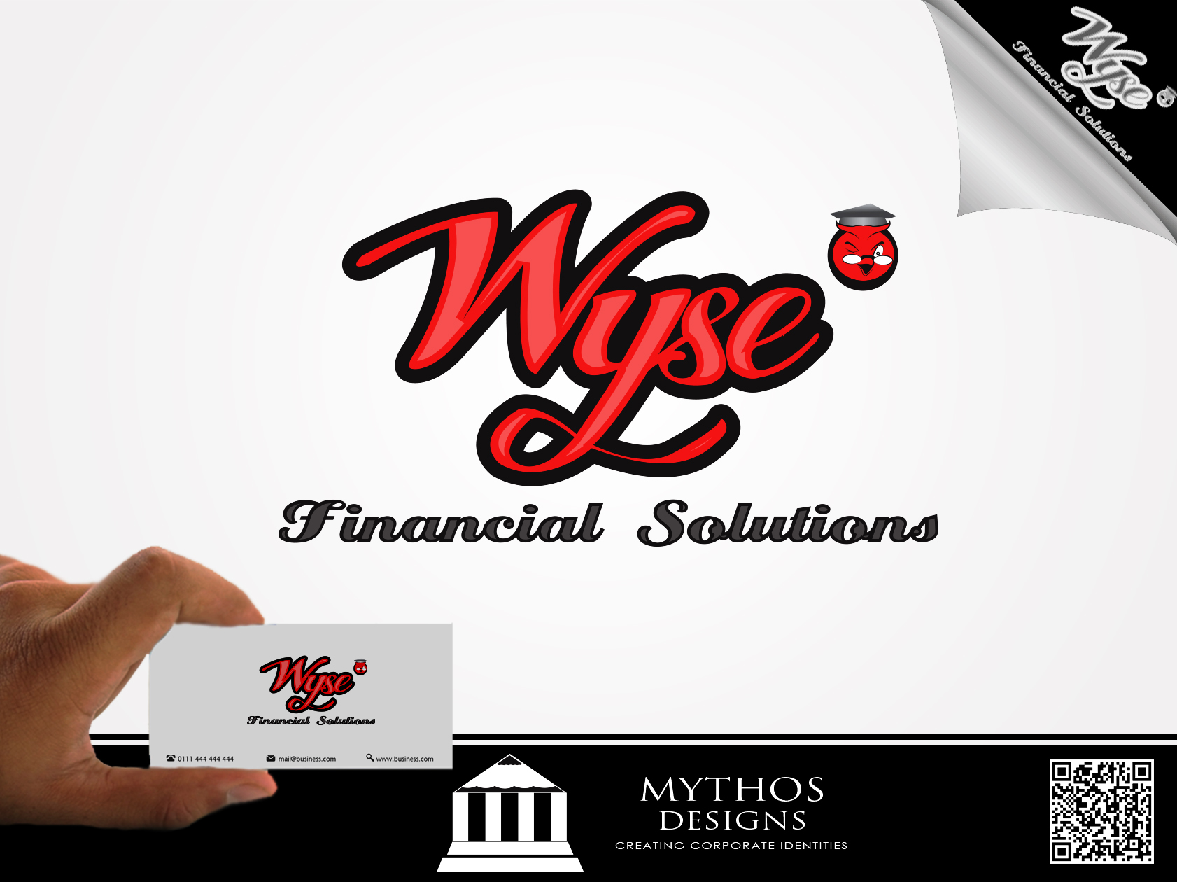 Logo Design by Mythos Designs - Entry No. 88 in the Logo Design Contest Fun Logo Design for Wyse Financial Solutions.