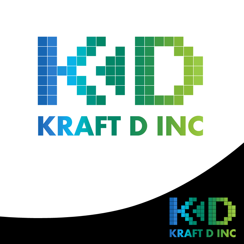 Logo Design by Robert Turla - Entry No. 198 in the Logo Design Contest Unique Logo Design Wanted for Kraft D Inc.
