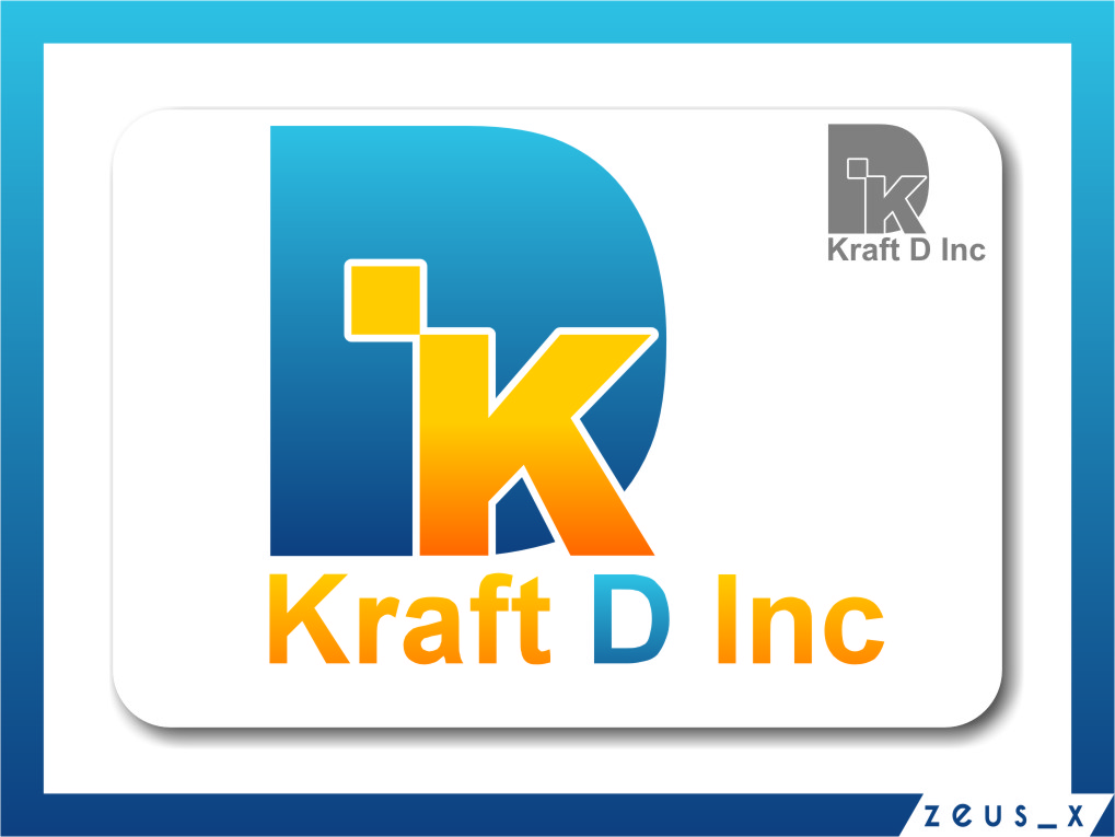 Logo Design by Ngepet_art - Entry No. 212 in the Logo Design Contest Unique Logo Design Wanted for Kraft D Inc.