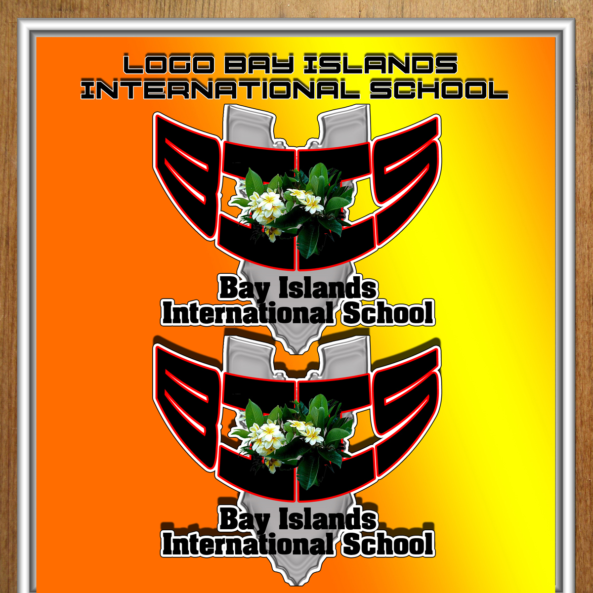 Logo Design by MITUCA ANDREI - Entry No. 19 in the Logo Design Contest Creative Logo Design for Bay Islands International School.