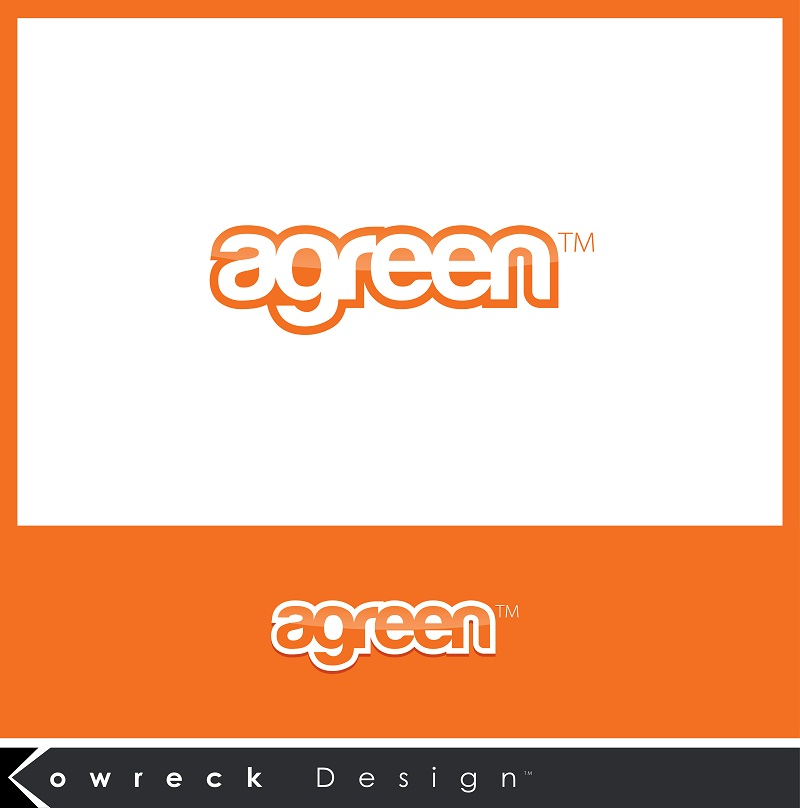 Logo Design by kowreck - Entry No. 52 in the Logo Design Contest Inspiring Logo Design for Agreen.