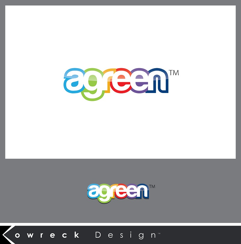 Logo Design by kowreck - Entry No. 53 in the Logo Design Contest Inspiring Logo Design for Agreen.