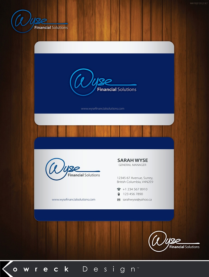 Logo Design by kowreck - Entry No. 97 in the Logo Design Contest Fun Logo Design for Wyse Financial Solutions.