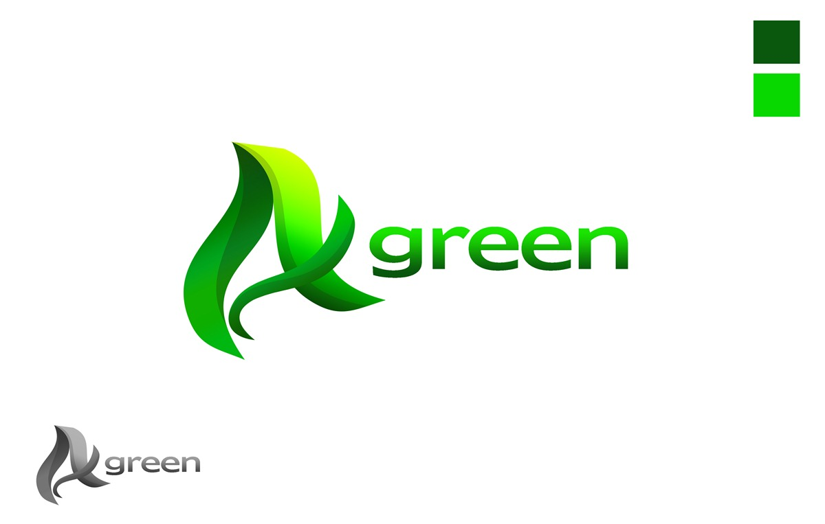 Logo Design by Respati Himawan - Entry No. 54 in the Logo Design Contest Inspiring Logo Design for Agreen.