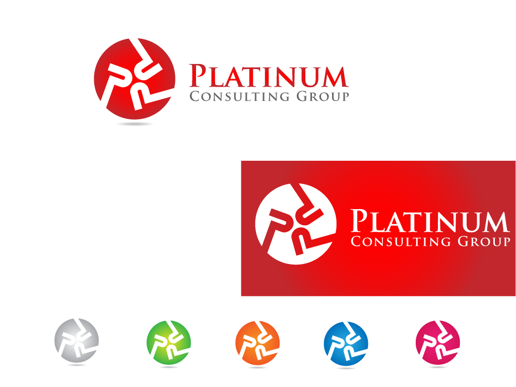 Logo Design by Jagdeep Singh - Entry No. 26 in the Logo Design Contest Captivating Logo Design for Platinum Consulting Group.