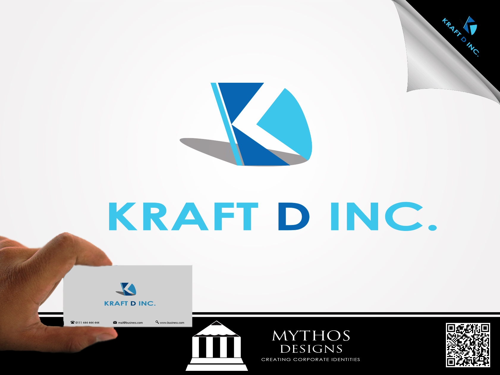 Logo Design by Mythos Designs - Entry No. 222 in the Logo Design Contest Unique Logo Design Wanted for Kraft D Inc.