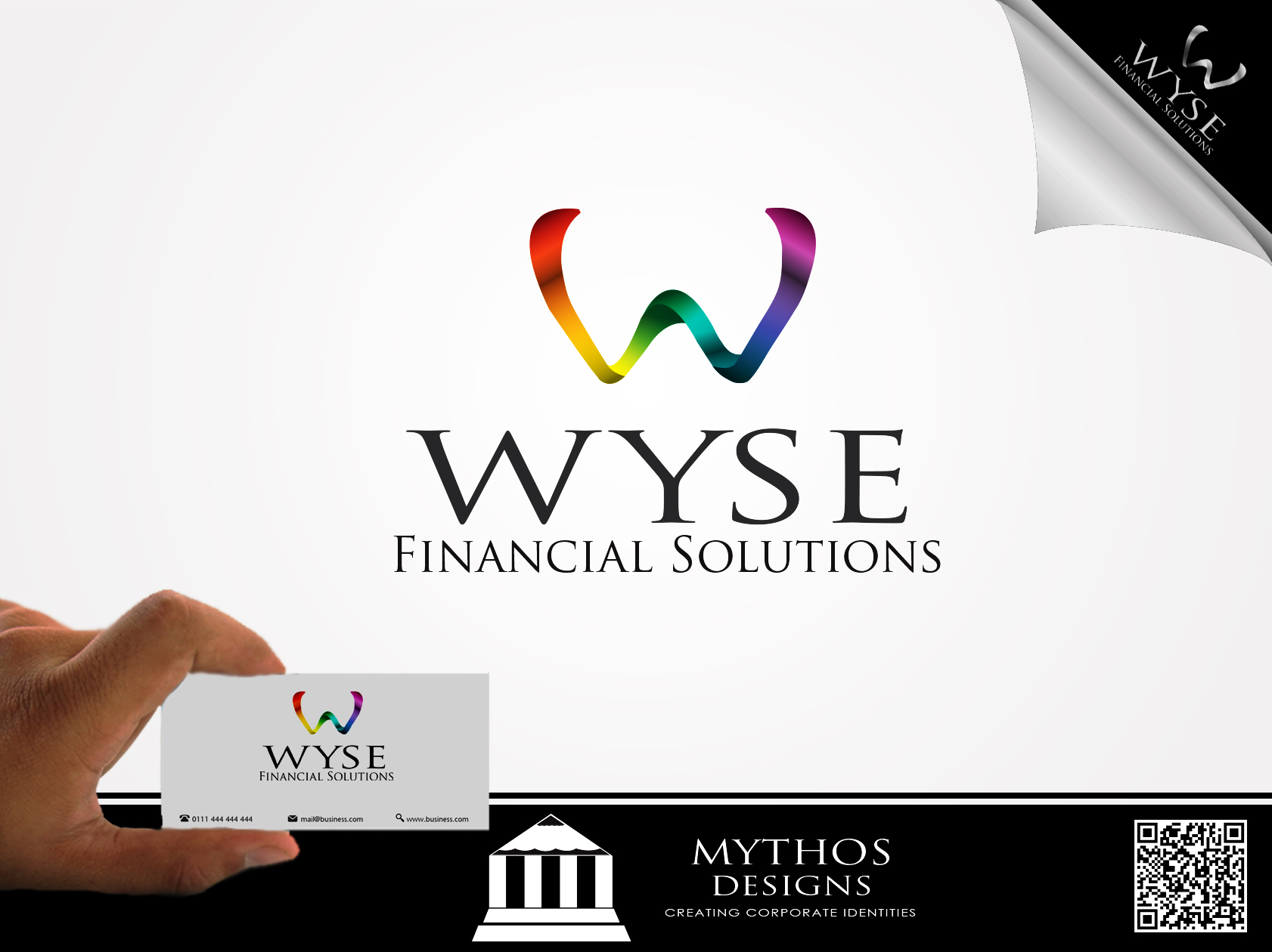 Logo Design by Mythos Designs - Entry No. 113 in the Logo Design Contest Fun Logo Design for Wyse Financial Solutions.