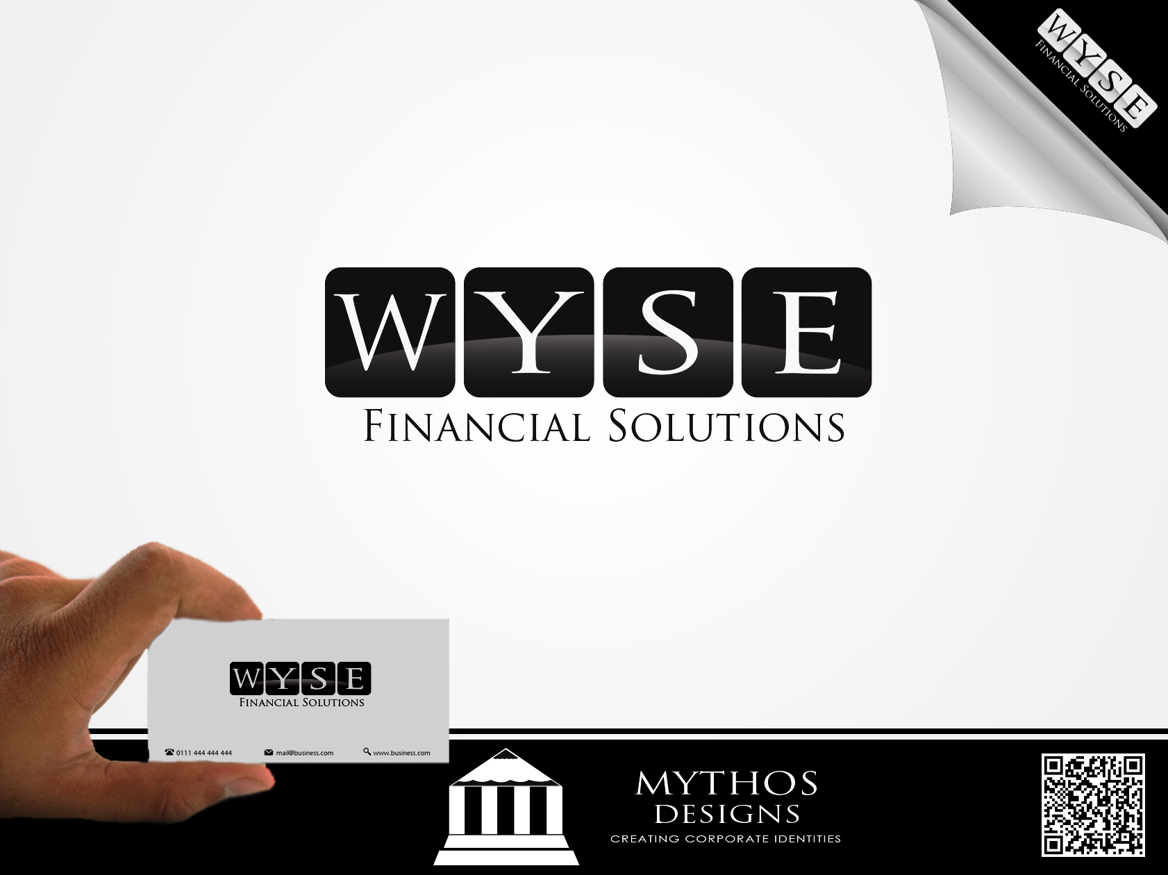 Logo Design by Mythos Designs - Entry No. 114 in the Logo Design Contest Fun Logo Design for Wyse Financial Solutions.