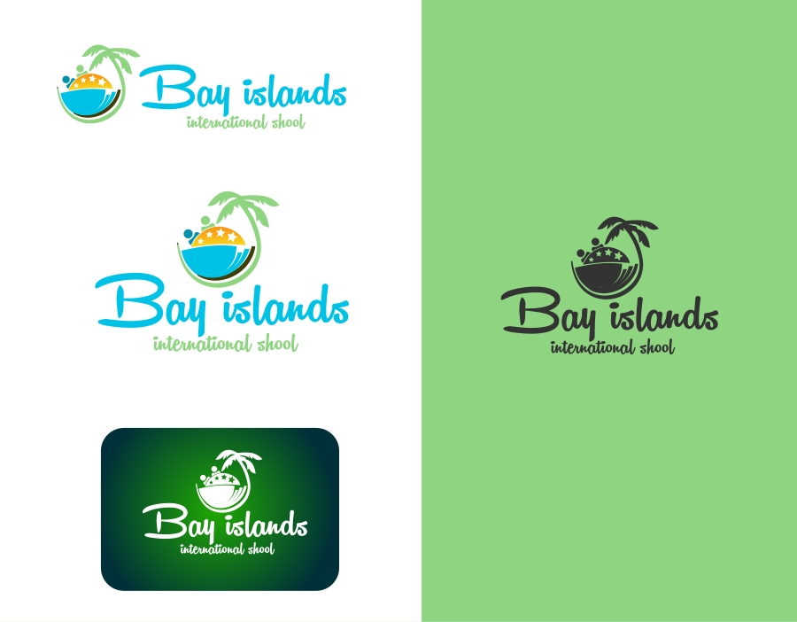 Logo Design by Private User - Entry No. 27 in the Logo Design Contest Creative Logo Design for Bay Islands International School.