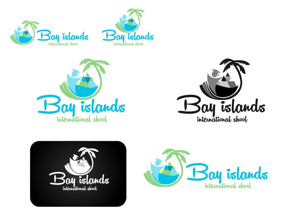 Logo Design by Private User - Entry No. 28 in the Logo Design Contest Creative Logo Design for Bay Islands International School.