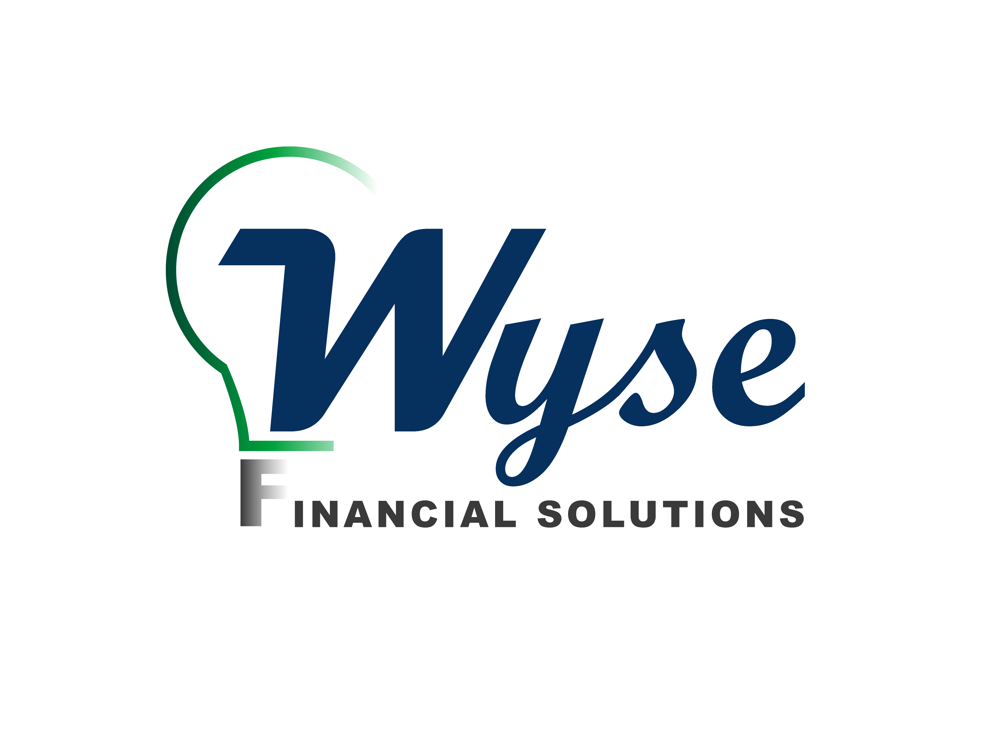 Logo Design by Private User - Entry No. 123 in the Logo Design Contest Fun Logo Design for Wyse Financial Solutions.