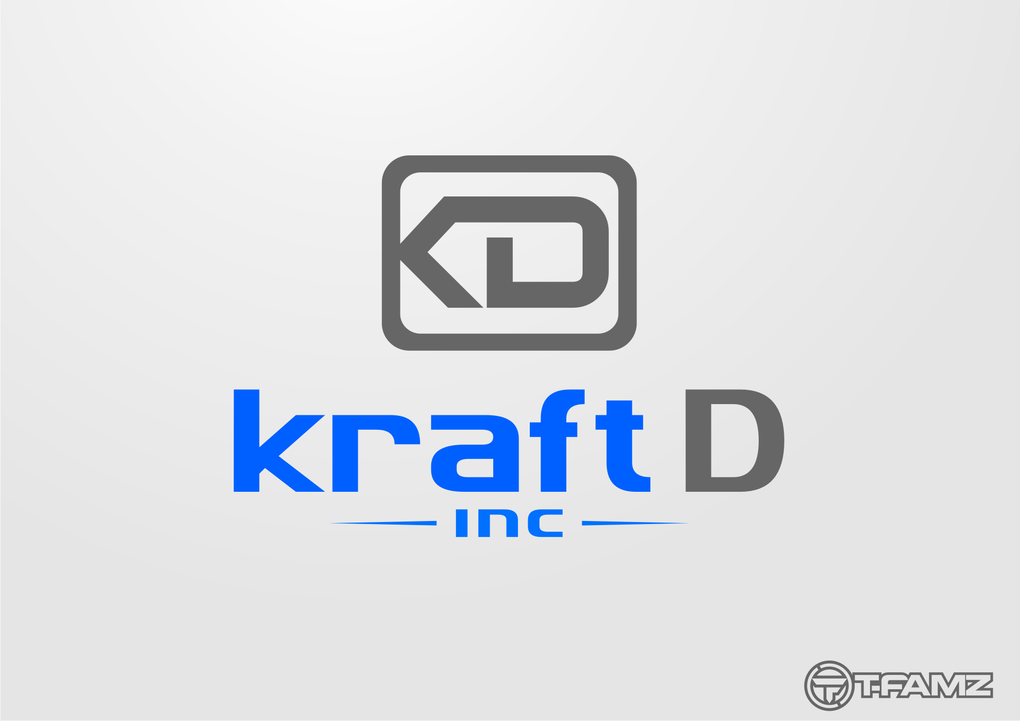 Logo Design by Tille Famz - Entry No. 227 in the Logo Design Contest Unique Logo Design Wanted for Kraft D Inc.