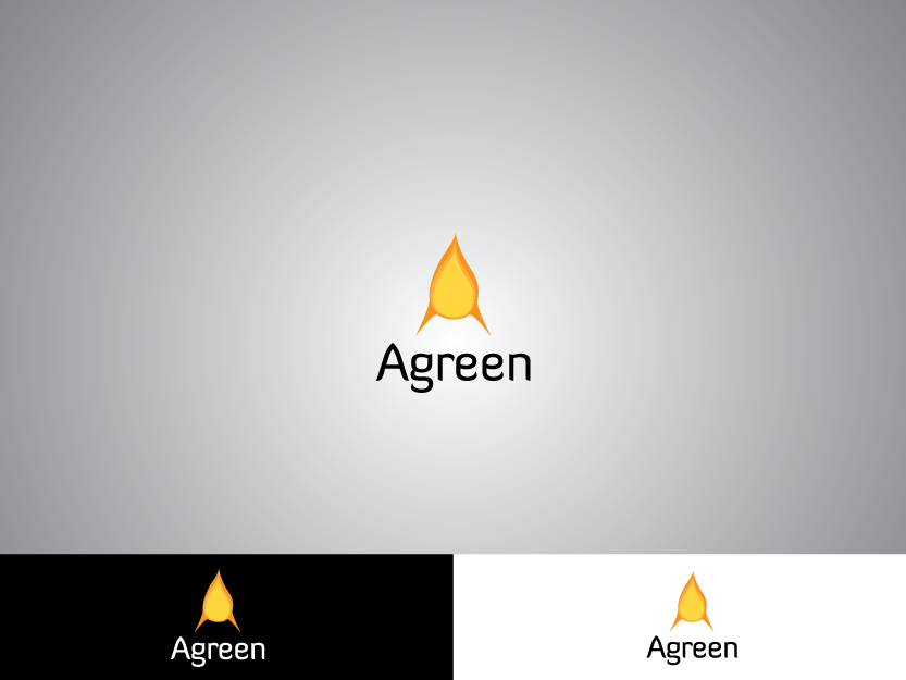 Logo Design by Private User - Entry No. 63 in the Logo Design Contest Inspiring Logo Design for Agreen.