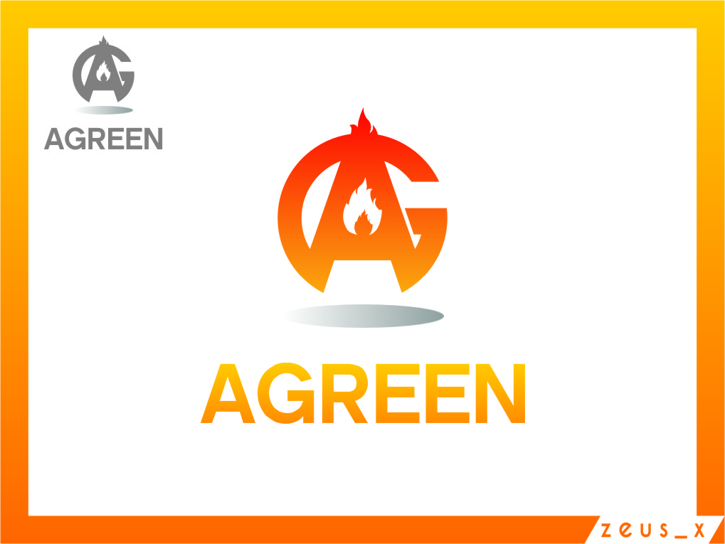 Logo Design by RoSyid Rono-Rene On Java - Entry No. 64 in the Logo Design Contest Inspiring Logo Design for Agreen.
