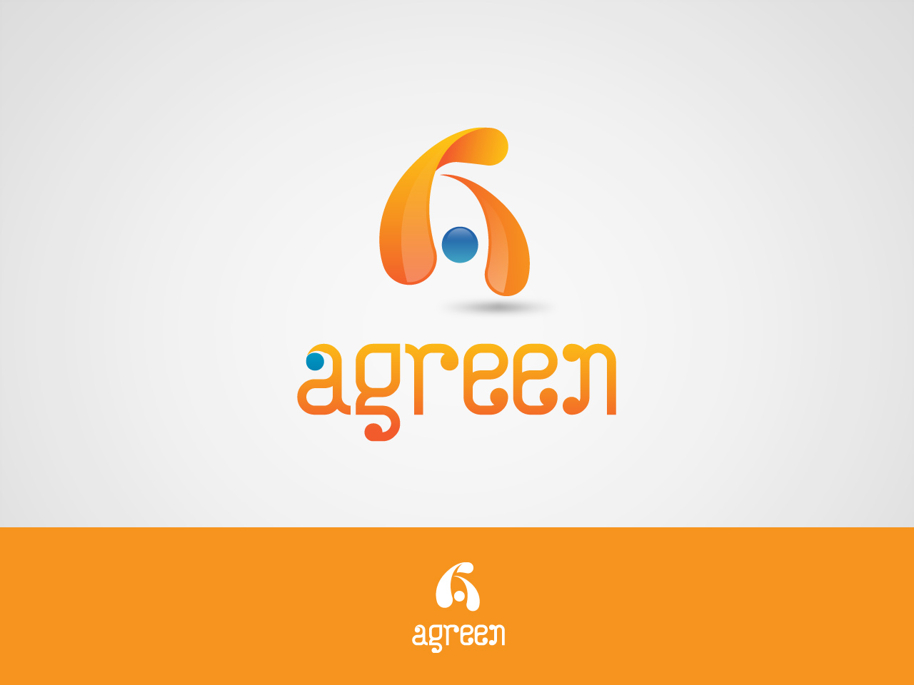 Logo Design by jpbituin - Entry No. 65 in the Logo Design Contest Inspiring Logo Design for Agreen.