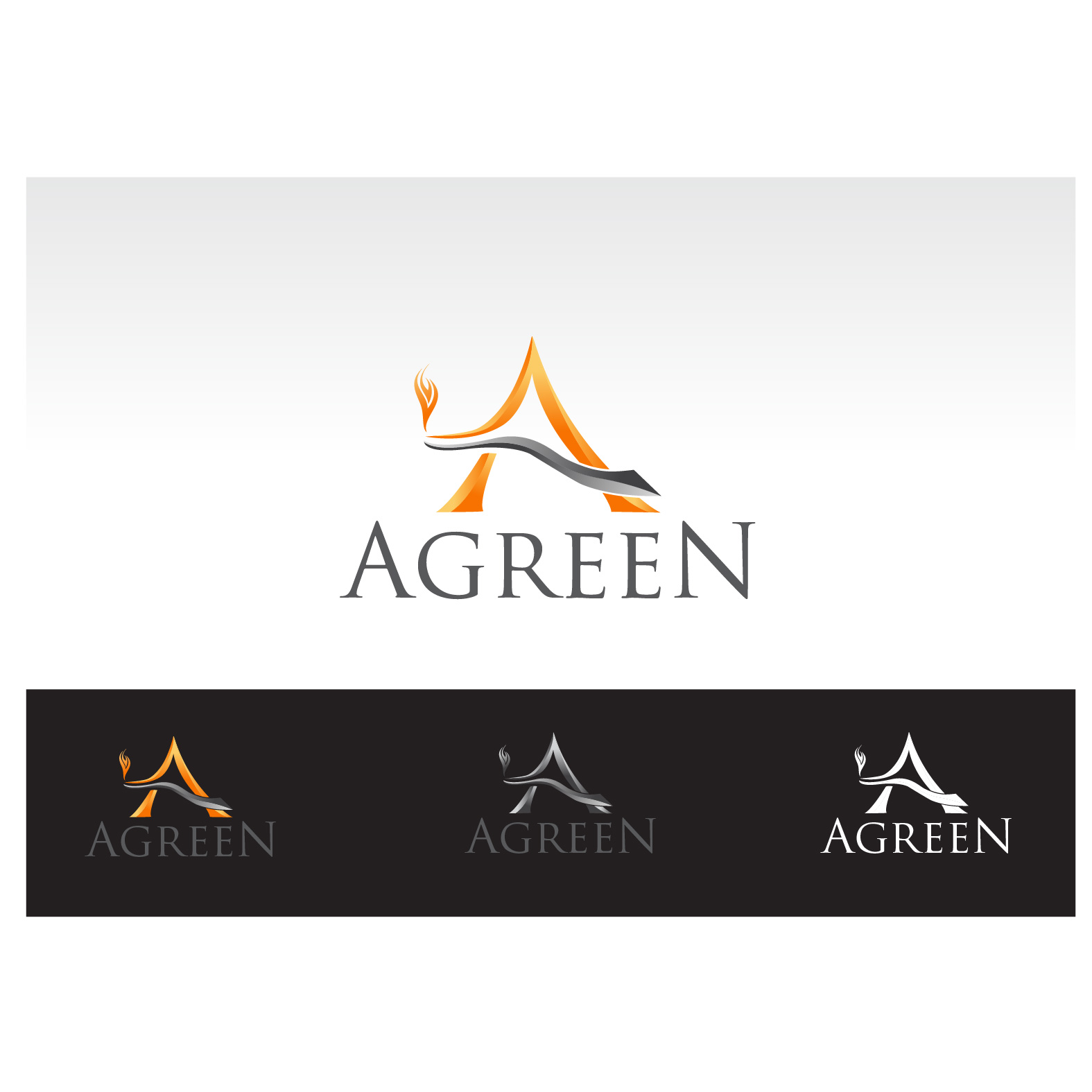 Logo Design by Robert Engi - Entry No. 66 in the Logo Design Contest Inspiring Logo Design for Agreen.
