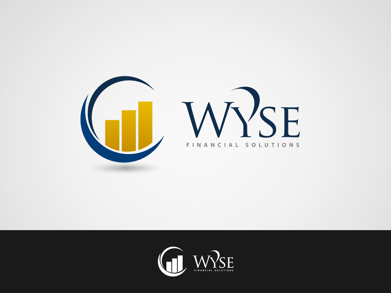 Logo Design by jpbituin - Entry No. 130 in the Logo Design Contest Fun Logo Design for Wyse Financial Solutions.