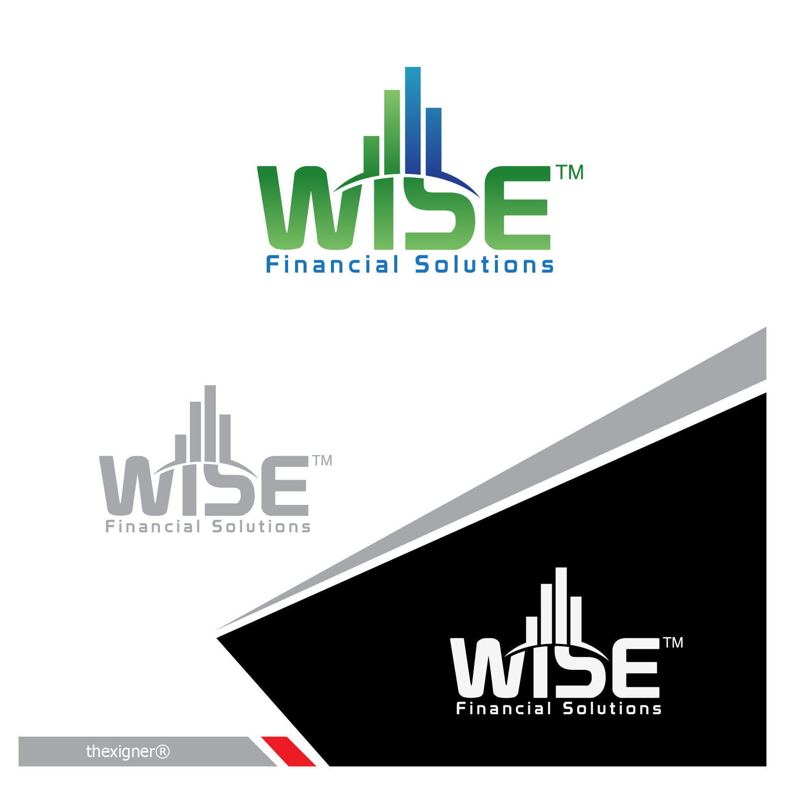 Logo Design by lagalag - Entry No. 131 in the Logo Design Contest Fun Logo Design for Wyse Financial Solutions.