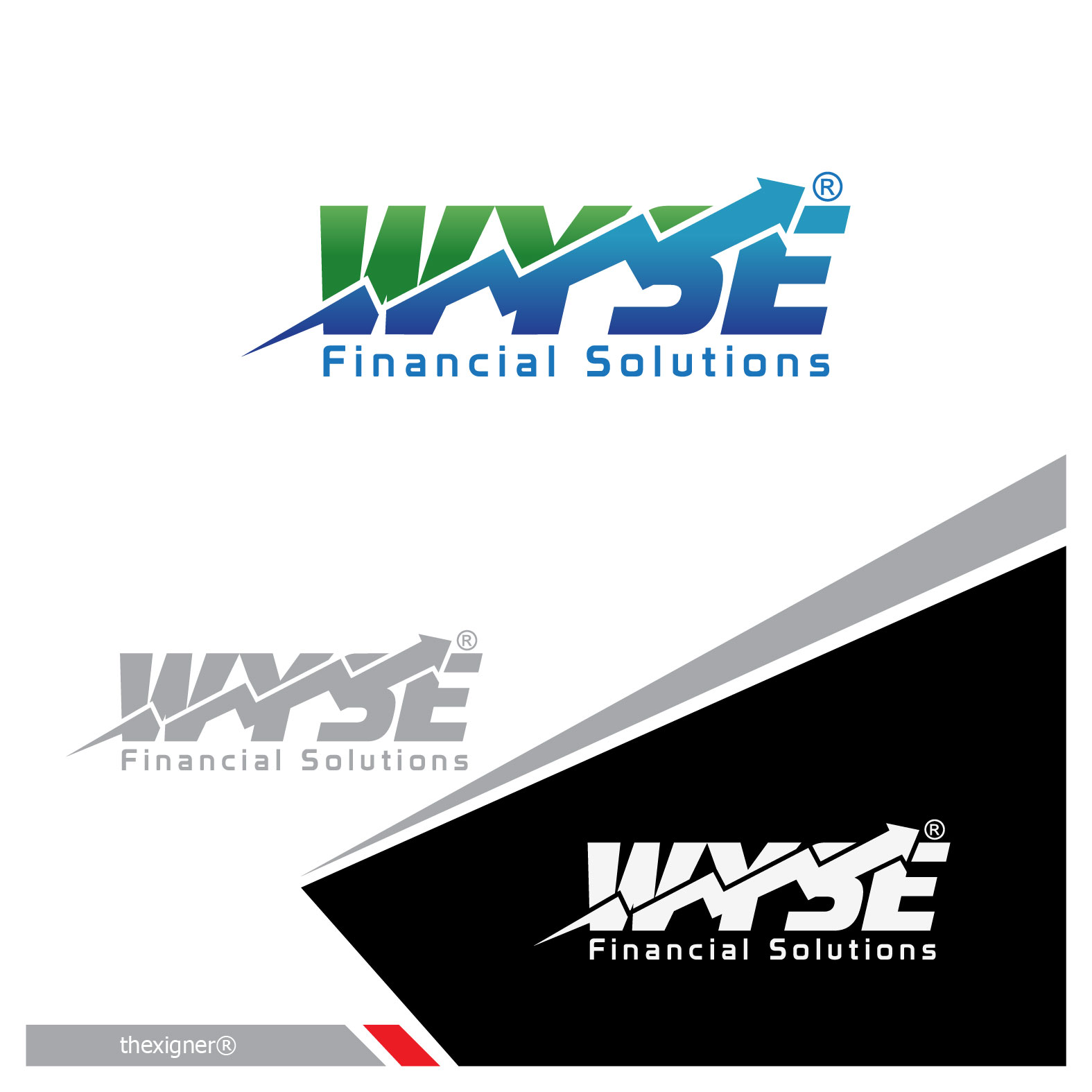 Logo Design by lagalag - Entry No. 132 in the Logo Design Contest Fun Logo Design for Wyse Financial Solutions.