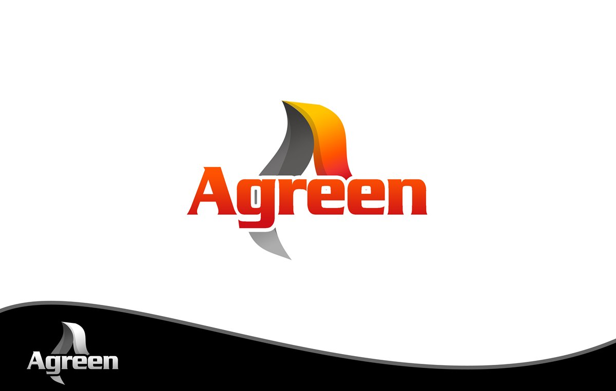 Logo Design by Respati Himawan - Entry No. 68 in the Logo Design Contest Inspiring Logo Design for Agreen.