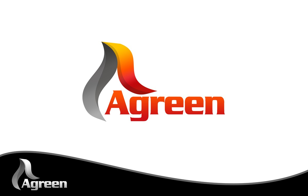 Logo Design by Respati Himawan - Entry No. 69 in the Logo Design Contest Inspiring Logo Design for Agreen.