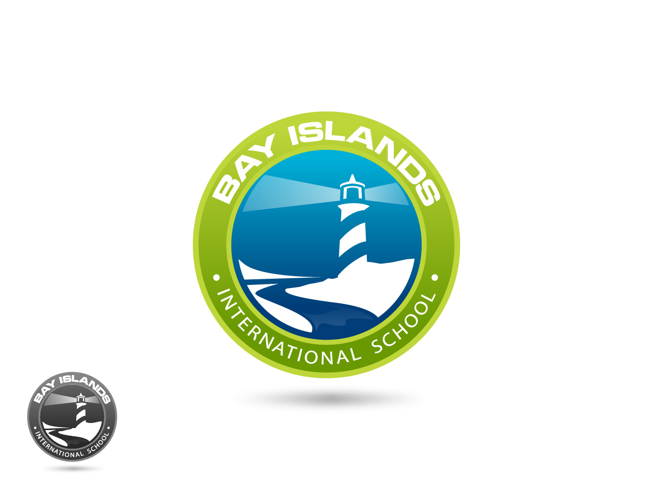 Logo Design by jpbituin - Entry No. 30 in the Logo Design Contest Creative Logo Design for Bay Islands International School.