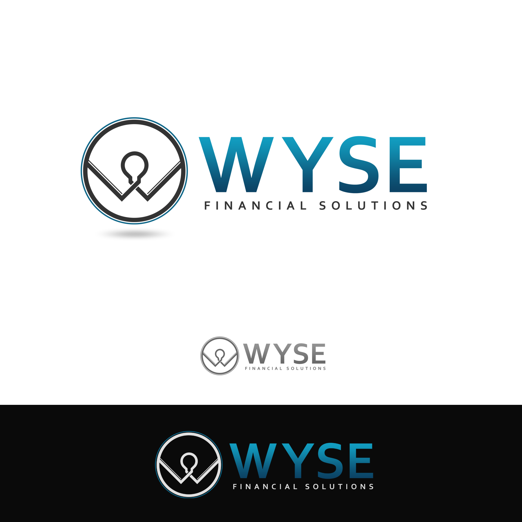 Logo Design by omARTist - Entry No. 133 in the Logo Design Contest Fun Logo Design for Wyse Financial Solutions.