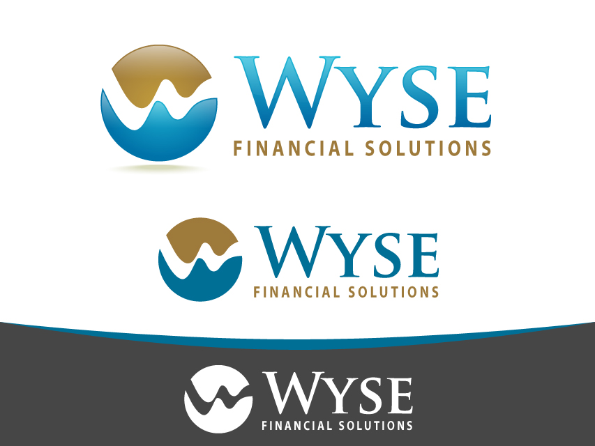 Logo Design by Richard Soriano - Entry No. 135 in the Logo Design Contest Fun Logo Design for Wyse Financial Solutions.