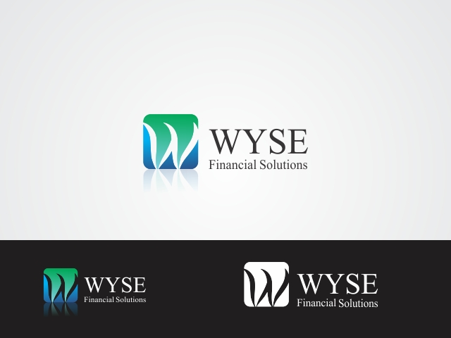Logo Design by Rizwan Saeed - Entry No. 141 in the Logo Design Contest Fun Logo Design for Wyse Financial Solutions.
