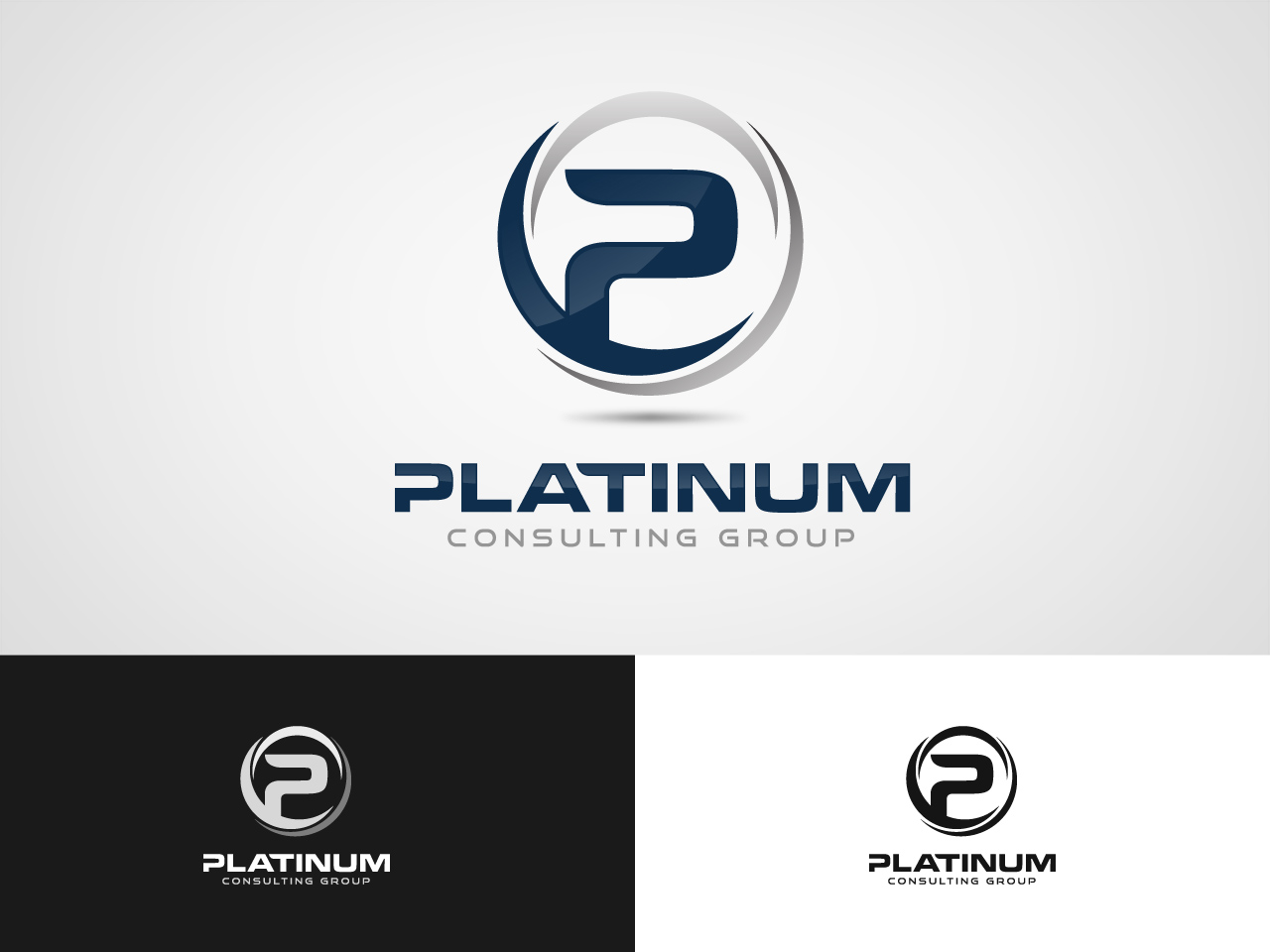 Logo Design by jpbituin - Entry No. 35 in the Logo Design Contest Captivating Logo Design for Platinum Consulting Group.
