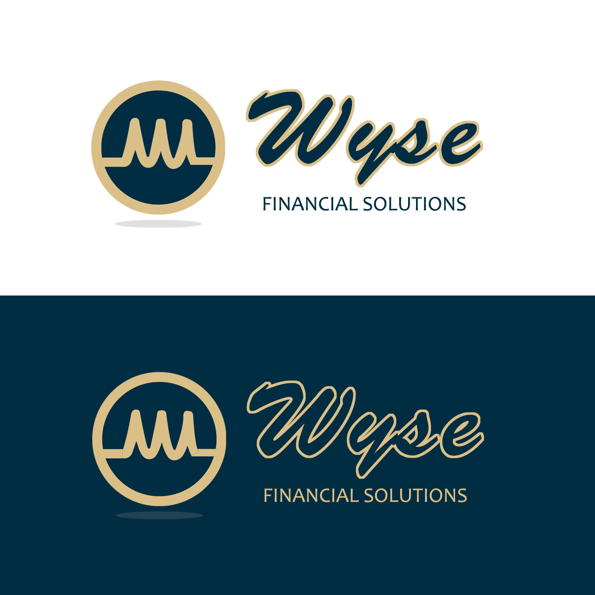 Logo Design by Private User - Entry No. 143 in the Logo Design Contest Fun Logo Design for Wyse Financial Solutions.