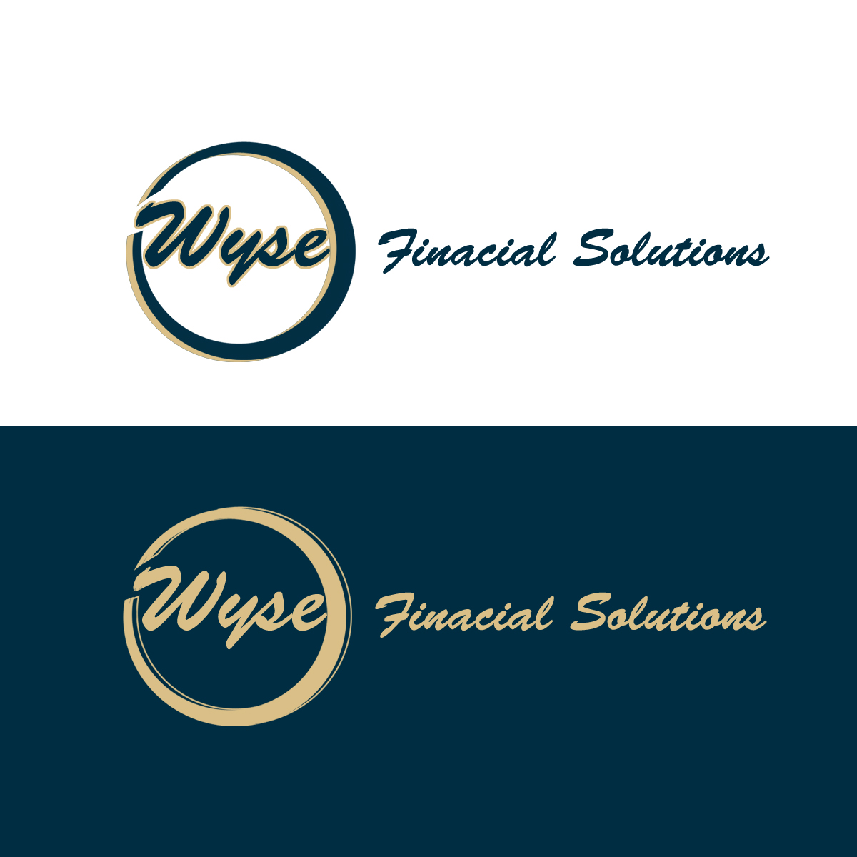 Logo Design by Private User - Entry No. 144 in the Logo Design Contest Fun Logo Design for Wyse Financial Solutions.