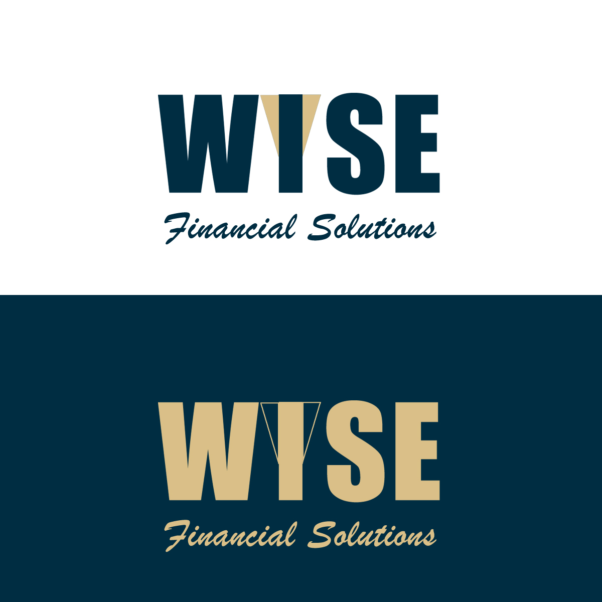 Logo Design by Private User - Entry No. 145 in the Logo Design Contest Fun Logo Design for Wyse Financial Solutions.