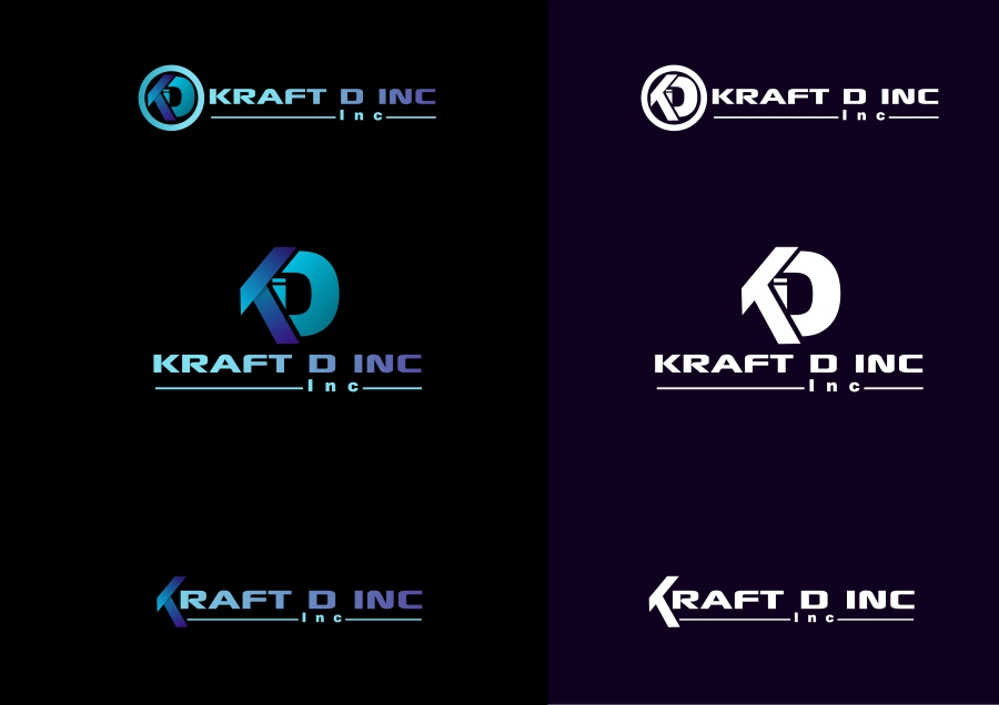 Logo Design by Private User - Entry No. 233 in the Logo Design Contest Unique Logo Design Wanted for Kraft D Inc.