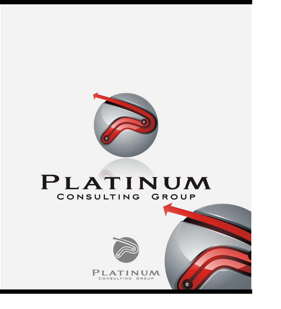 Logo Design by graphicleaf - Entry No. 37 in the Logo Design Contest Captivating Logo Design for Platinum Consulting Group.
