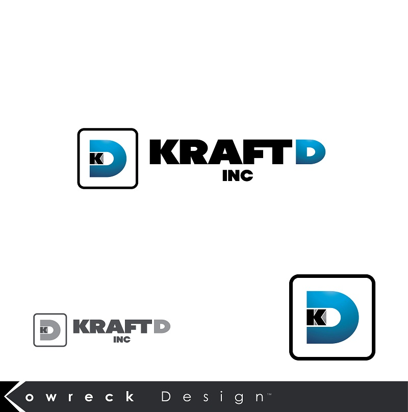 Logo Design by kowreck - Entry No. 240 in the Logo Design Contest Unique Logo Design Wanted for Kraft D Inc.