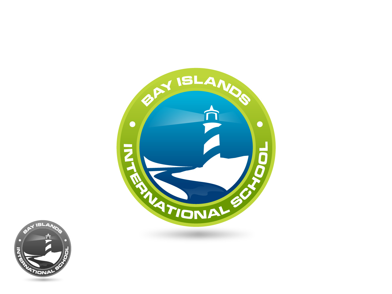 Logo Design by jpbituin - Entry No. 32 in the Logo Design Contest Creative Logo Design for Bay Islands International School.